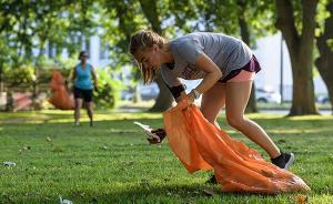 跑步+捡垃圾才是减肥神器,今天你晒plogging了吗