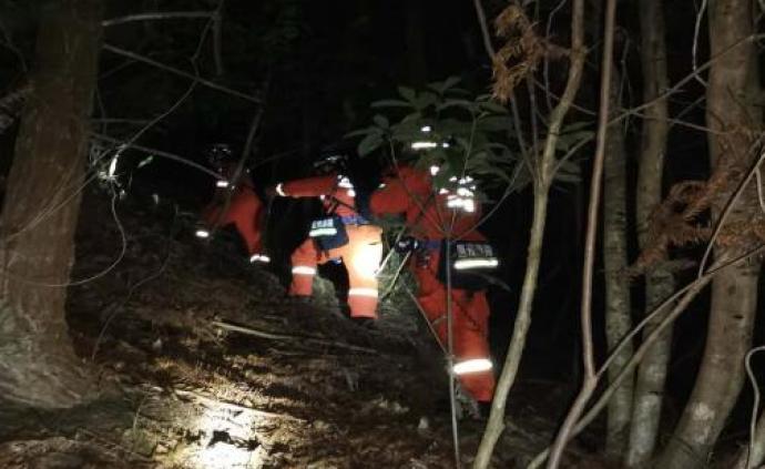 40余名驴友被困温州大若岩十二峰风景区,目前已找到11人