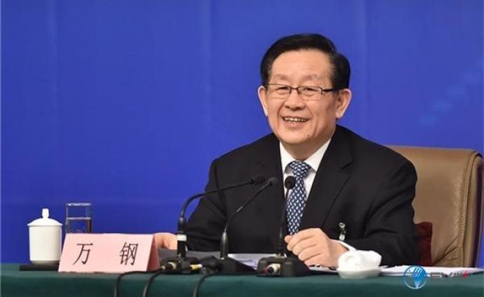 万钢:不认为中国快三政府会用行政命令淘汰传统燃油车